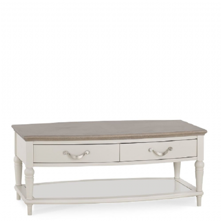 Montreux Washed Oak and Soft Grey Coffee Table